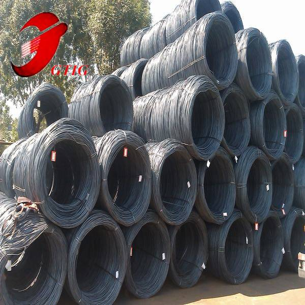 high quality low carbon cold drawn wire drawning using SAE1008B wire rod in coil
