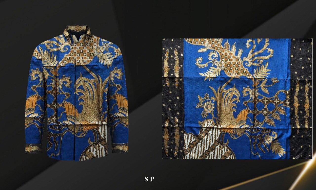 Handmade Prada Silk Batik Fabrics, Style 24