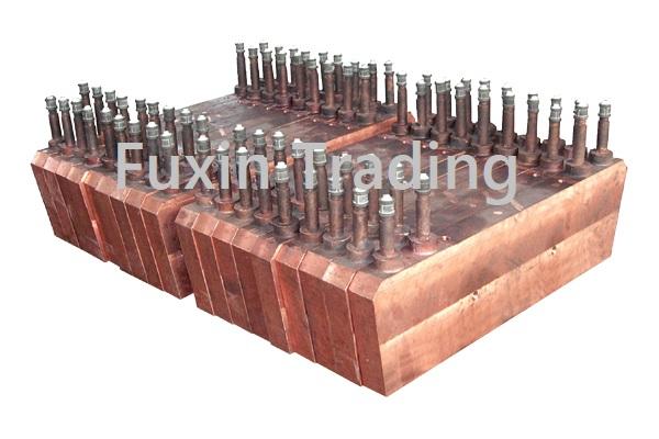 Flash Furnace Reactor Copper Cooling Jacket