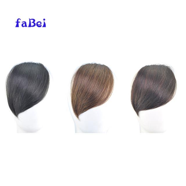 Premium Quality human hair claw clip hair fringe hair bang for women