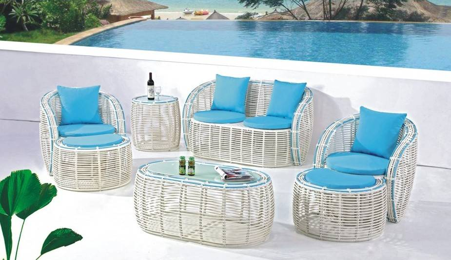 2014 Hot selling rattan sofa set