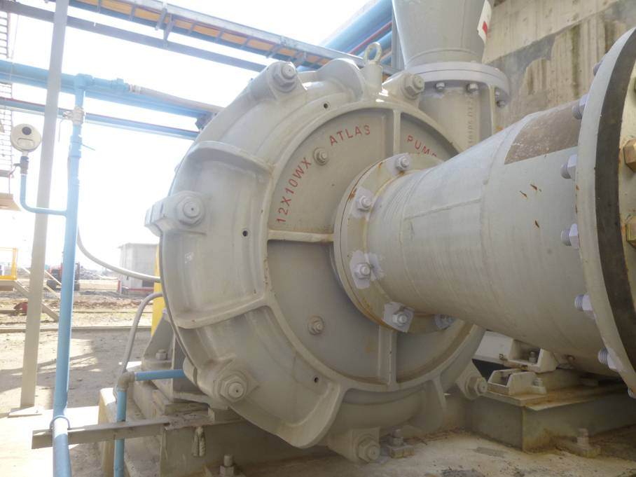 Atlas WX(R) heavy duty slurry pump
