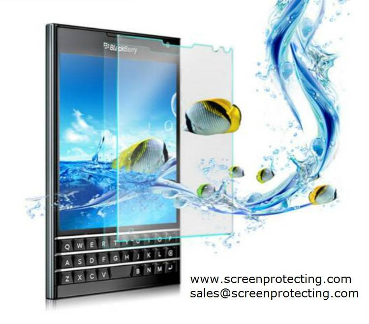 Wholesale 2.5D 9H Premium Tempered Glass Screen Protector for BlackBerry Passport SQW100-1 Q3