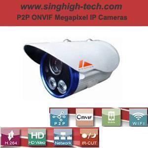 P2p Onvif 960p 1.3MP Waterproof IR IP Camera (NS5277D)