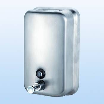 SELL--Stainless steel Soap dispenser (flat)