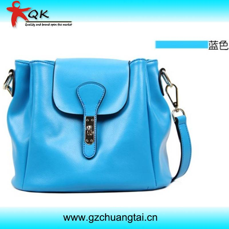 New Design Classical Fashion Ladies Genuine Leather Crossbody Bag