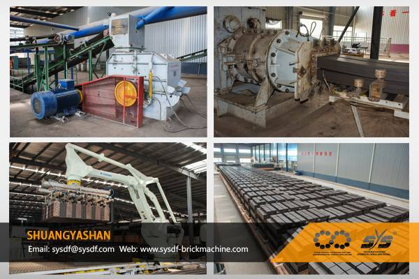 Annual Output 80 Million Hollow Bricks Production Line