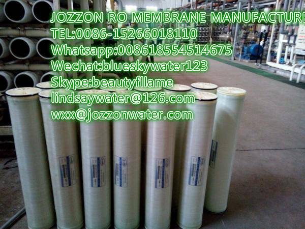 Jozzon industrial Ro membrane 8inch 4inch