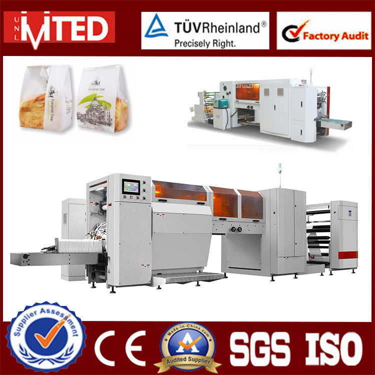 RZJD-G350J High Quality High Speed Paper Roll Feeding To Bag Making Machine, Window Bag Machine
