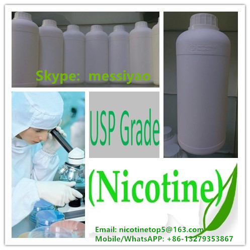 We hot sell 1000mg/ml pure nicotine used for e-liquid