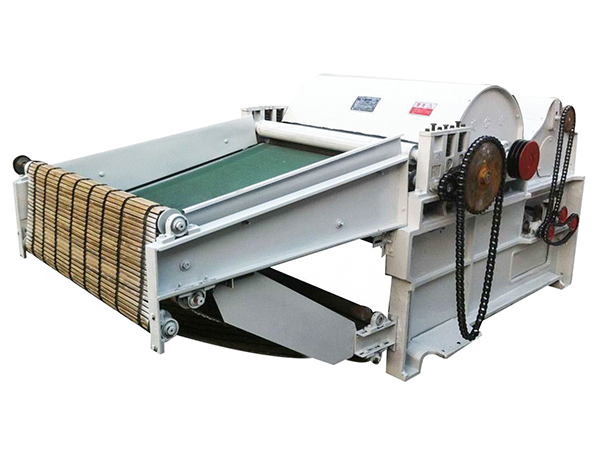 SBT 600 four feed roller textile waste opener