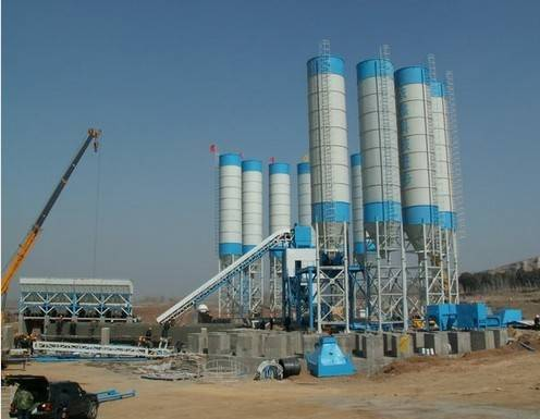 Concrete Mixing Plant (with the capacity of 240m3/h) (HZS240)