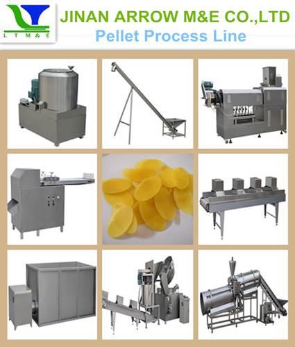 screw/shell/pellet process line