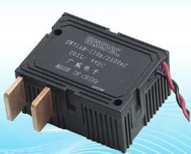 Magnetic self-latching relay