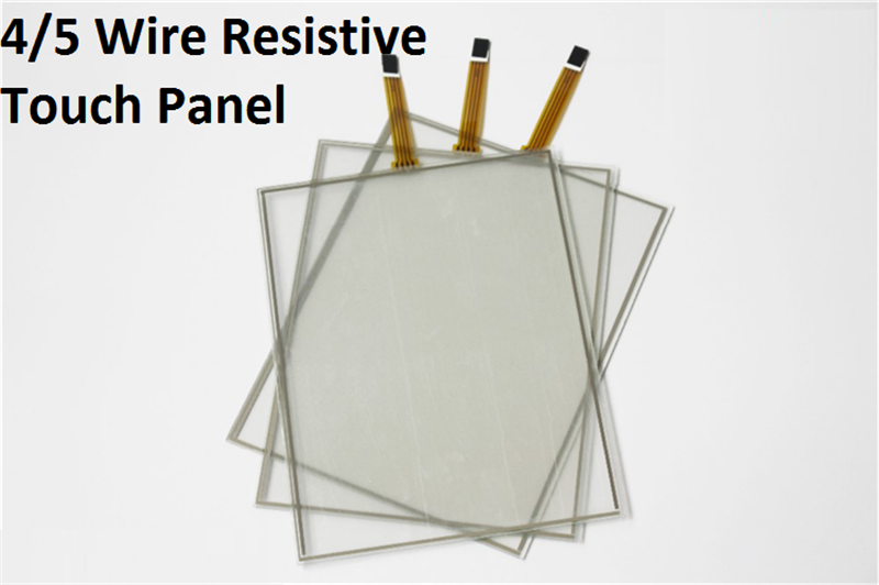 resistive cheap touch screen panel touch glass overlay kit transparent and electronic pure glass