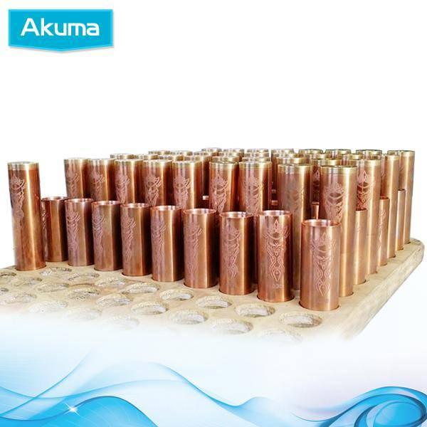 Wholesale - Mechanical mod Akuma Mod Red copper material Mech mod Akuma mod clone for 510 Thread Cle