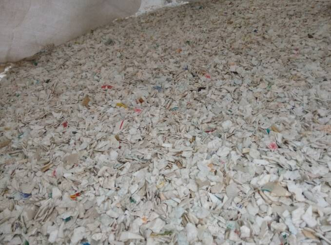 import crushed plastic PP and PE