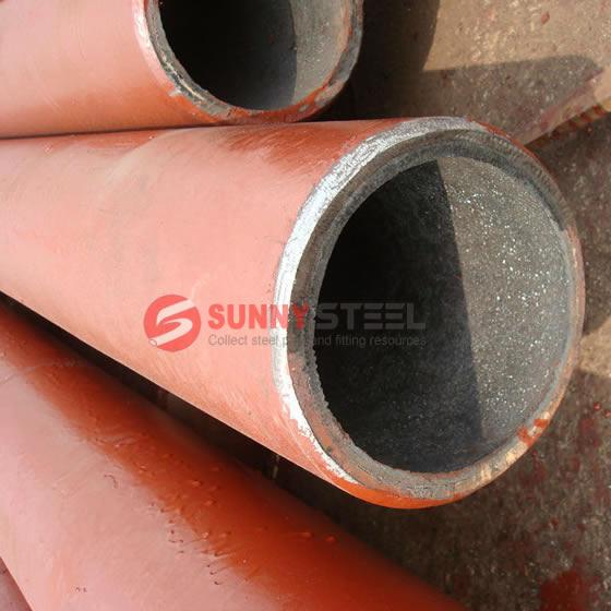 Resistant ceramic composite pipe