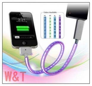 flash color charger cable