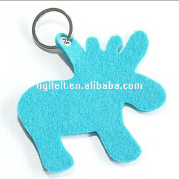 craft felt keychain with exquisite shapes