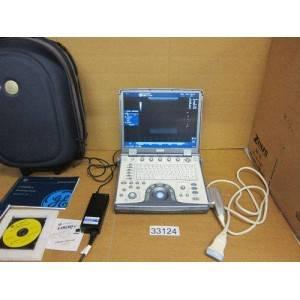 GE Logiq e portable ultrasound machine.