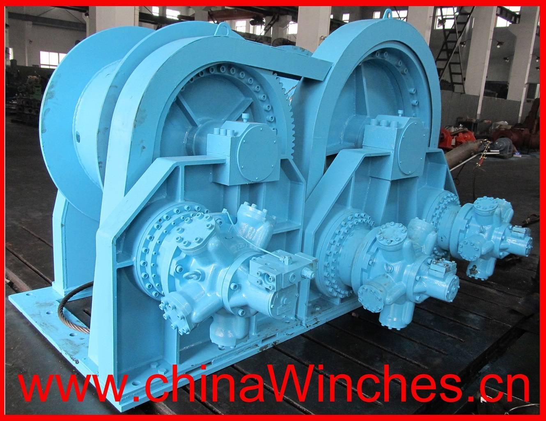 Water ethylene glycol mining winch