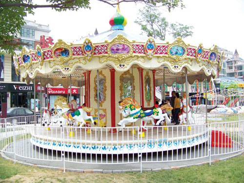 16/24 capacity hot deluxe carousal/merry go round amusement park rides equipment