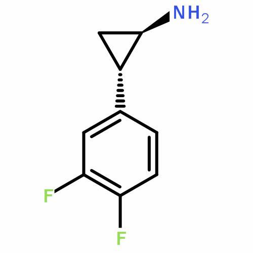 EthyCyclopropanamine, 2-(3,4-difluorophenyl)-, (1R,2S)- (REACH)