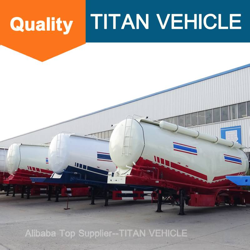 Titan Vehicle trucks and trailers bulk cement transportation truck for sale