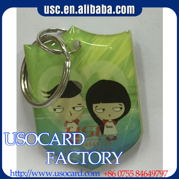 ISO 14443A HF Professional Custom Printable and Cartoon Epoxy card Epoxy Tag RFID Suppliers