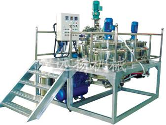 type vacuum shearing emulsification equipment