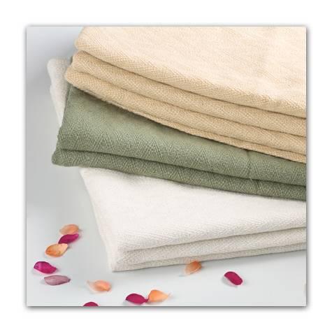 Outlast-fiber blanket, throw, scarf