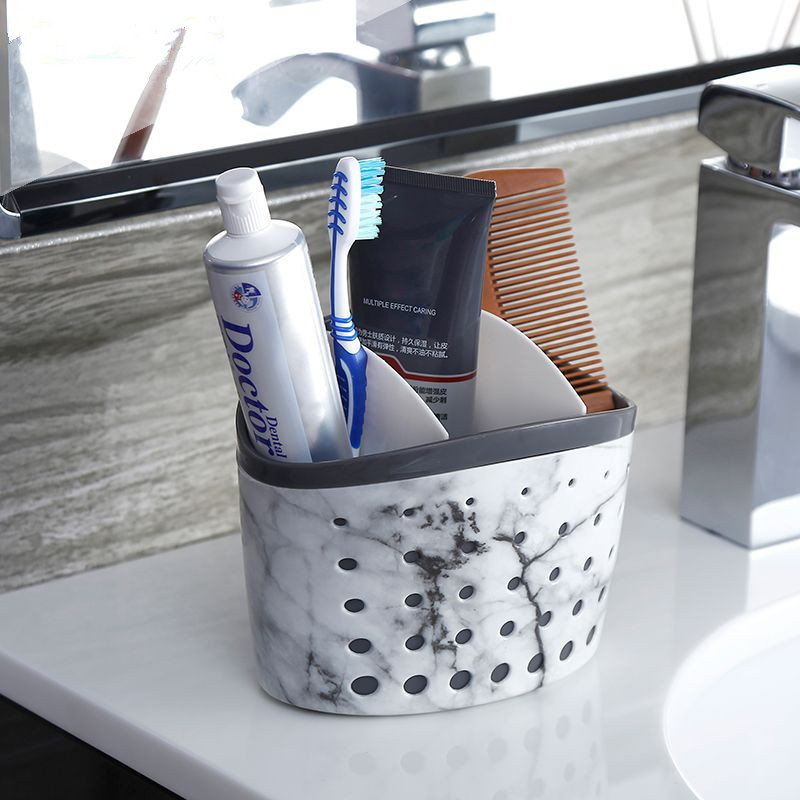 PLASTIC BATHROOM ORGANIZER