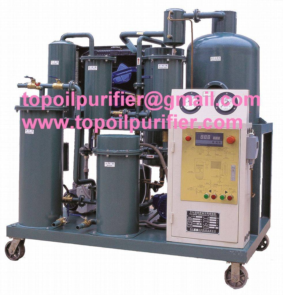 Engine lubricating oil filtration machine/ oil purification system