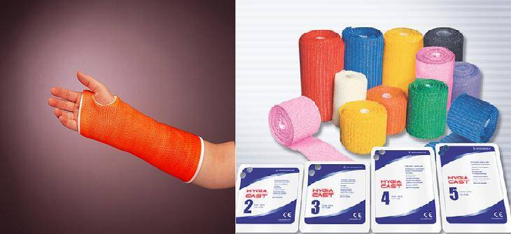 Polyester orthopedic casting tape (Hygia Cast)