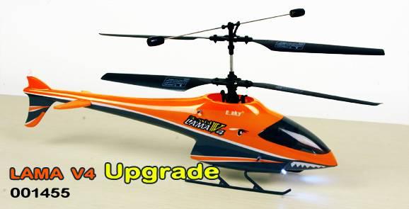 Esky 000145 New Lama V4 Upgrade Electronic RC Helicopter