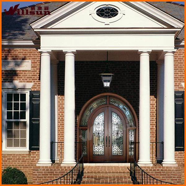 2014 MOST POPULAR solid wood arch door