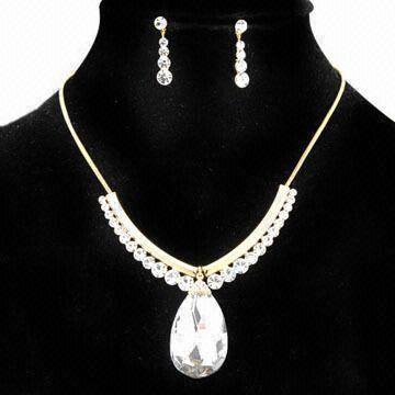 selling swarovski jewelry set JS021