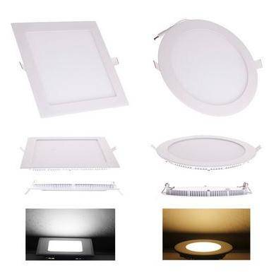 Sell led ceiling lightings 6W 9W 12W 15W 18W 21W Dimmable CREE LED Recessed Ceiling Panel
