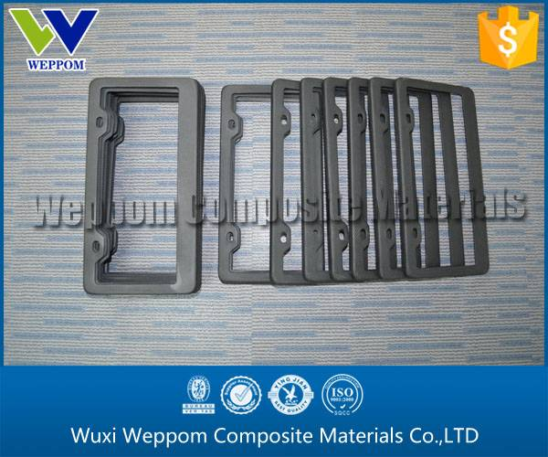 Well-Liked Carbon Fiber Material License Plate Frame