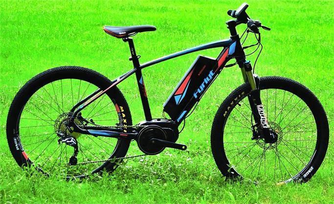 MTB 26'' mid drive e-bicycle
