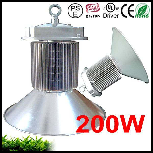 200W Highbay LED PSE, SAA, CE, RoHS Approved