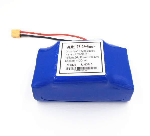 36V 4.4AH Lithium Battery Pack for Self-balance Scooter
