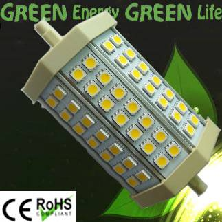 led light R7S replace halogen floodlight