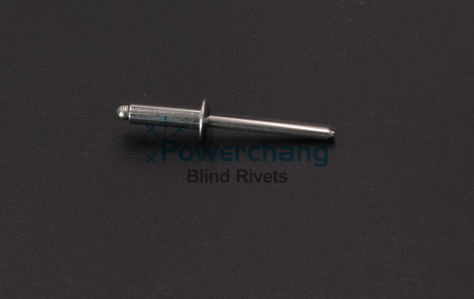DIN 7337 Stainless steel / Stainless steel blind rivet Dome Head