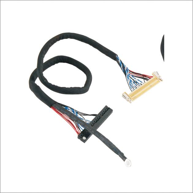 LVDS Display cable FI-X 30P to DuPont 2.0 44P LVDS cable