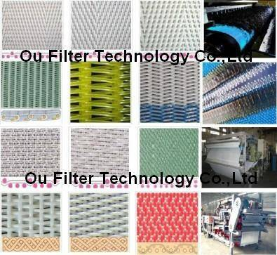 Dewatering Belts / Dehydrates filter fabrics, polyester filter belt