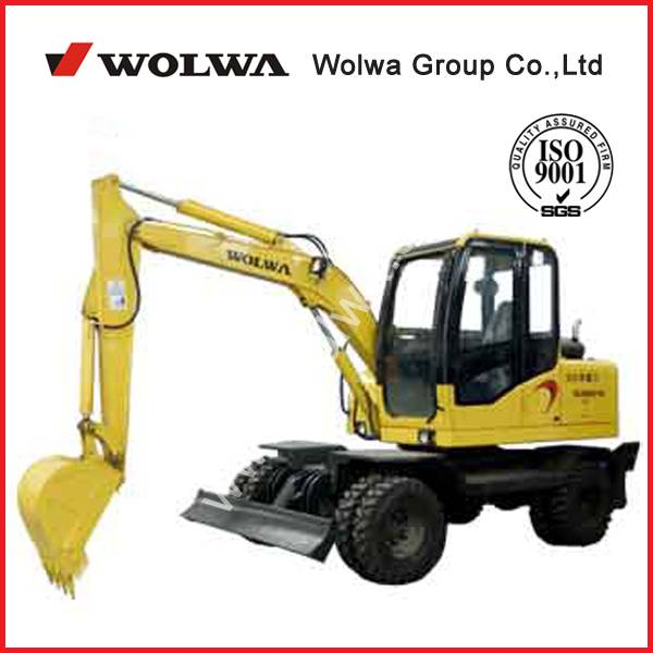 sell Chinese 6 ton wheel excavator