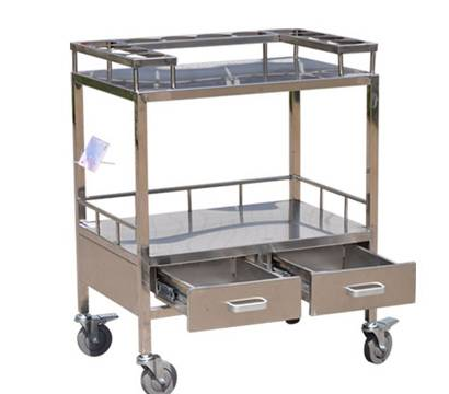 Medicine storage stainless steel trolley RCS-H0Z23