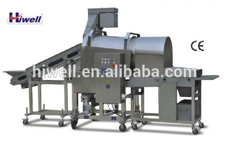 fish shrimp Drum Breading Machine flouring machine coating machineGFJ600-IV